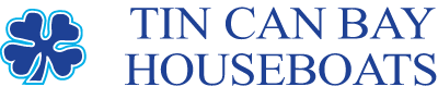 Tin Can Bay Houseboats Retina Logo