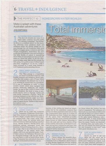 Australian weekender review